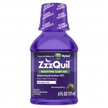 ZZZQUIL NIGHTTIME SLEEP-AID WARMING BERRY - 6 OZ
