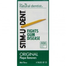 STIM U DENT PLAQUE REMOVERS MINT 100 CT