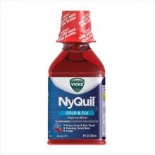 VICKS NYQUIL COLD & FLU CHERRY 8 OZ