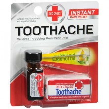RED CROSS TOOTHACHE COMPLETE MEDICATION KIT - 0.125 OZ