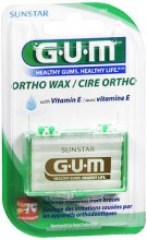 GUM ORTHODONTICS WAX WITH VITAMIN E