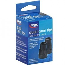 CAREX QUAD CANE TIPS 5/8