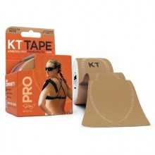KT TAPE SYNTHETIC PRO KINESIOLOGY TAPE BEIGE - 20 CT