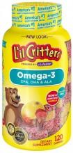 L'IL CRITTERS OMEGA-3 GUMMIES - 120 CT