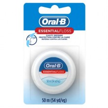 ORAL B FLOSS WAX 55YD FLOURIDE