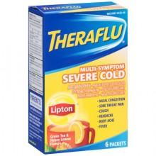 THERAFLU M/S SVR COLD W/LIPT 6