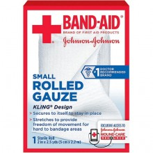 BAND-AID ROLLED GAUZE 2