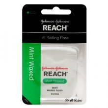 REACH WAXED FLOSS MINT - 55 YDS