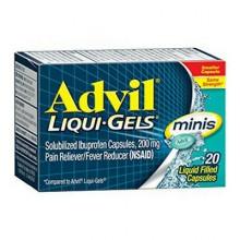 ADVIL LIQUI-GEL MINIS - 20 CT