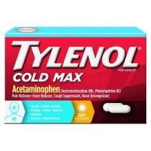TYLENOL COLD MAX MULTI SYMPTOM DAYTIME CAPLETS  24 CT