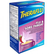 THERAFLU FLU S/THROAT PWD 6