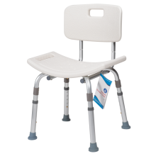 DYNAREX DELUXE SHOWER CHAIR WITH BACK