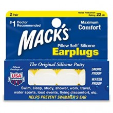 MACK'S EAR PLUG - PILLOW SOFT 2 PAIRS