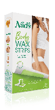 NAD'S BODY HAIR REMOVAL WAX STRIPS 24 CT