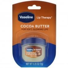 VASELINE LIP THERAPY JAR COCOA BUTTER .25 OZ