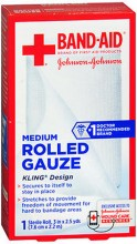 BAND-AID ROLLED GAUZE 3