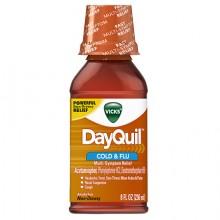 VICKS DAYQUIL COLD & FLU 8 OZ