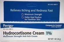 HYDROCORTISONE 1% W/ALOE CR 28 GM