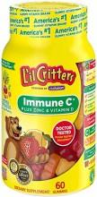 L'IL CRITTERS IMMUNE C PLUS ZINC & VIT D 60 CT