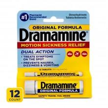 DRAMAMINE ORIGINAL TABS 12 CT
