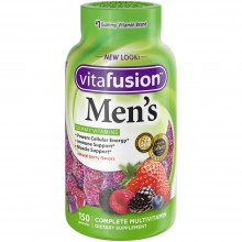 VITAFUSION MEN'S MULTIVITE GUMMIES NATURAL BERRY - 150 CT