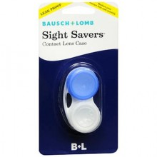 BAUSCH & LOMB SIGHT SAVERS CONTACT LENS CASE - 1 CT